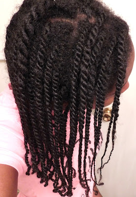 Mini twists at week three - ClassyCurlies