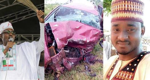 Buhari's Supporter Who Promised To Donate To His 2019 Election Dies In Car Crash