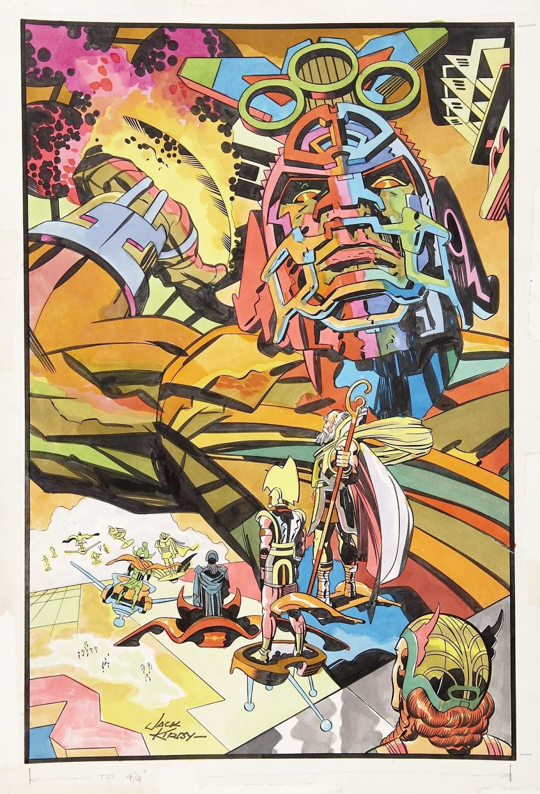 Cap'n's Comics: Kosmic Football by Jack Kirby Jack Kirby Art
