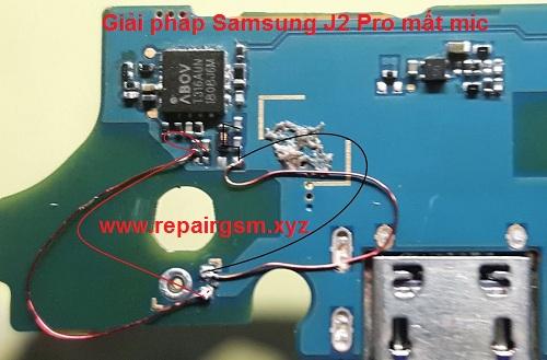 Giải pháp Samsung J2 Pro mất mic