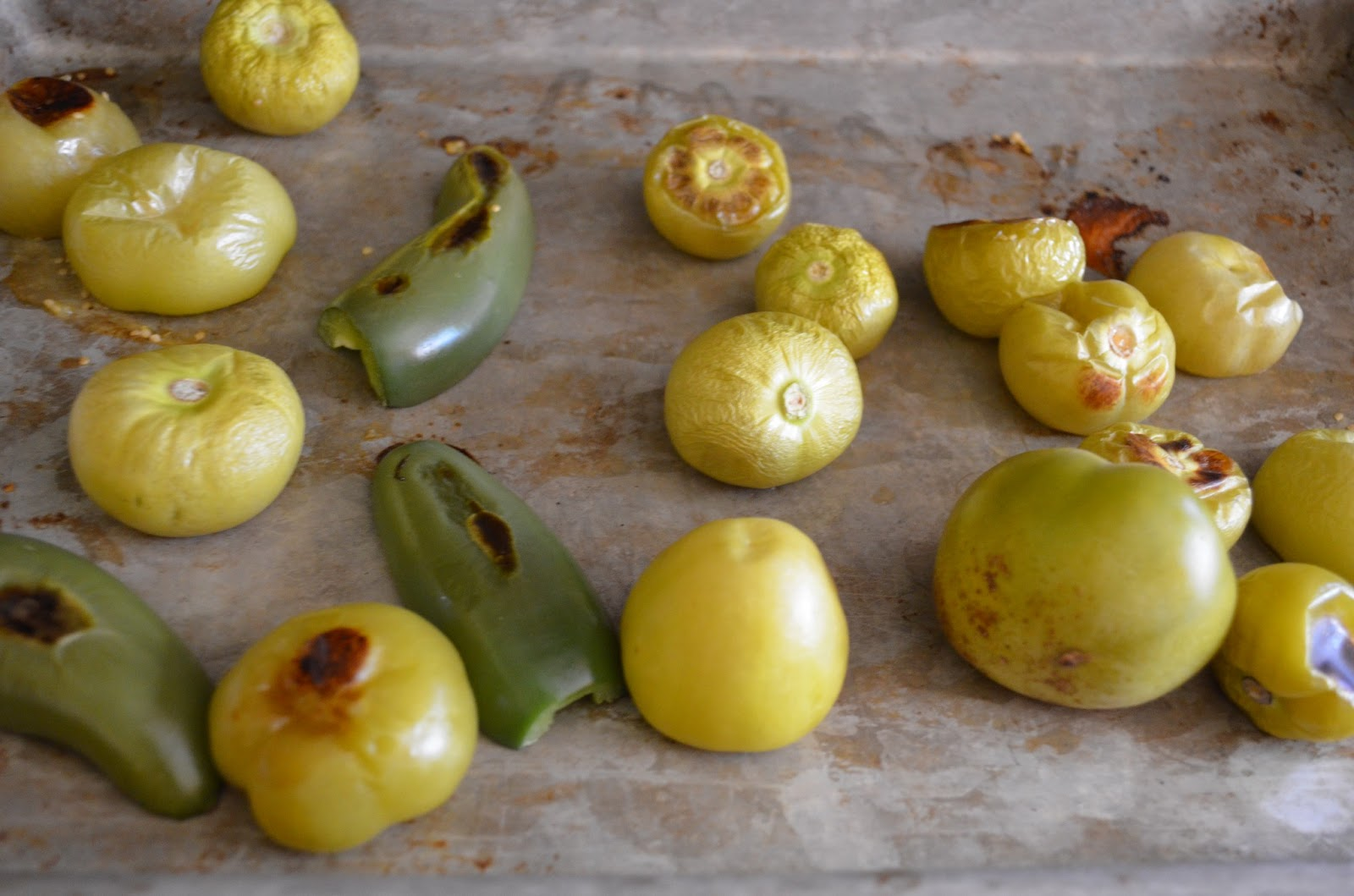 Chicken Chili Verde roasted tomatillos and jalapeños from Serena Bakes Simply From Scratch.