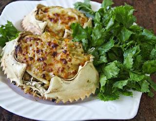 resep kepiting isi sayuran