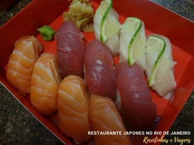 Restaurante japonês Rio de Janeiro com delivery otimo
