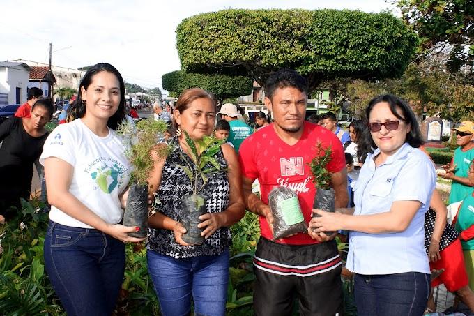 Alcoa realiza ação ambiental durante o Abraça Juruti