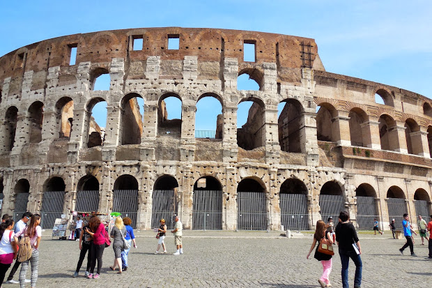 Vatican and Colosseum
