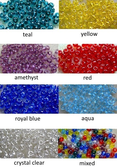 6/0 seed beads