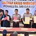 Mantab! Polresta Sidoarjo Ungkap Puluhan Kasus Narkoba Dalam Sepekan