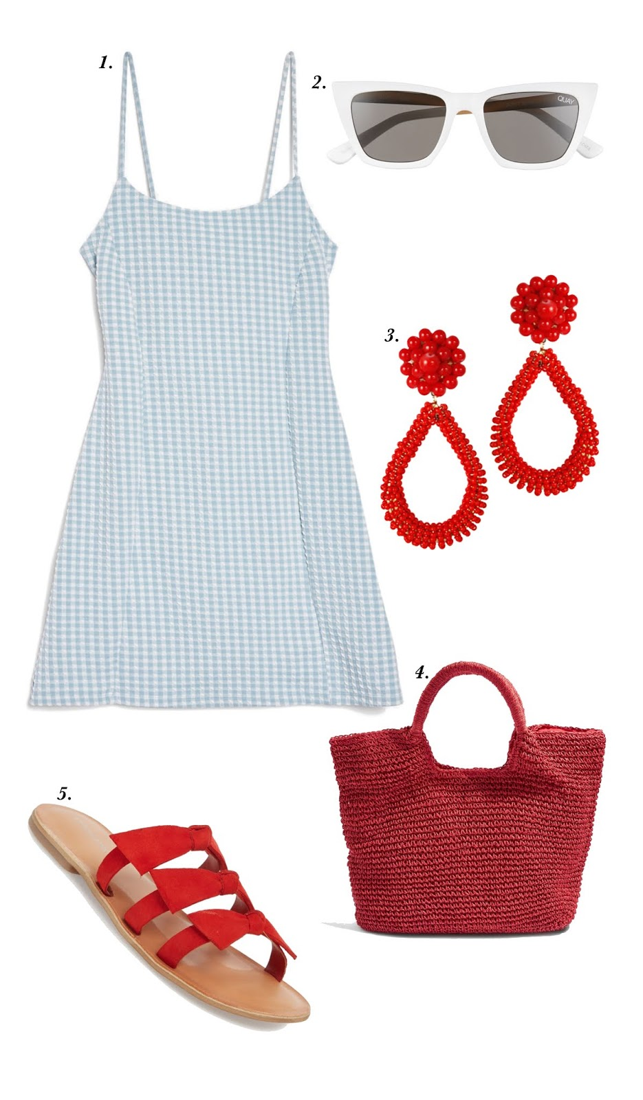 July 4th Outfit Inspiration - Something Delightful Blog