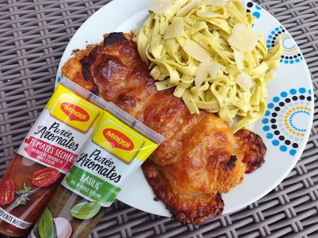 Escalopes de poulet gratinée à la Mozzarella recette