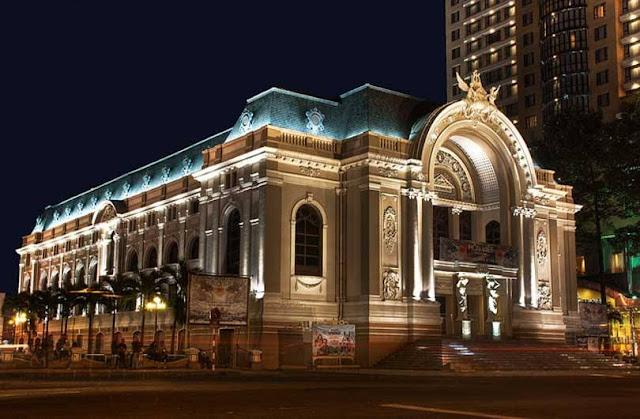 Vị trí nhà hát mới ở Thủ Thiêm
