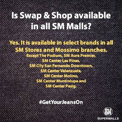 SM Department Store Swap & Shop,promo,promos