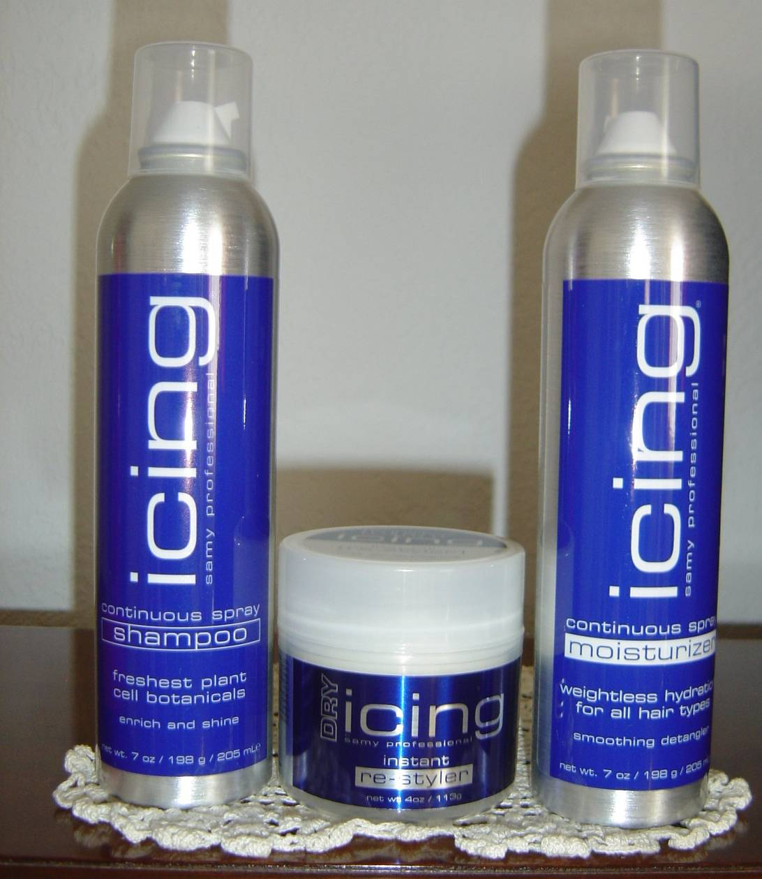 Samy Icing Hair Products