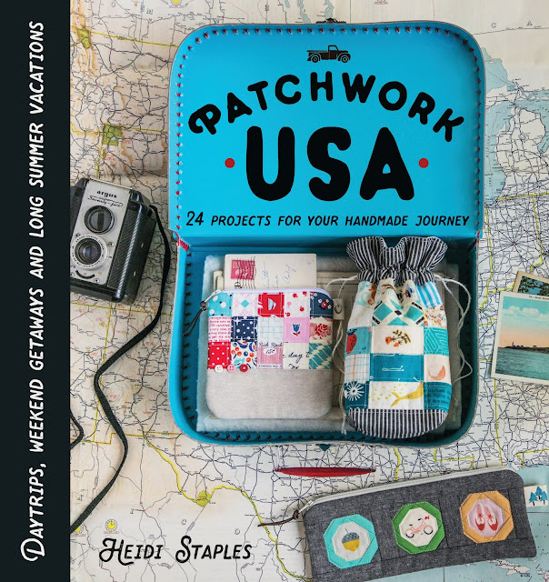 Patchwork USA by Heidi Staples of Fabric Mutt (Photo by Page + Pixel for Lucky Spool Media)