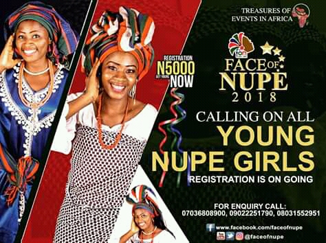 Face of Nupe for young beautiful Nupe girls in Africa
