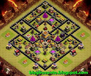 Base COC th 8 Anti Naga dan Gowipe 02