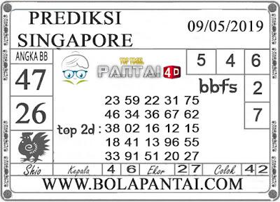 """Prediksi Togel """"SINGAPORE"""" PANTAI4D 09 MEI 2019"""