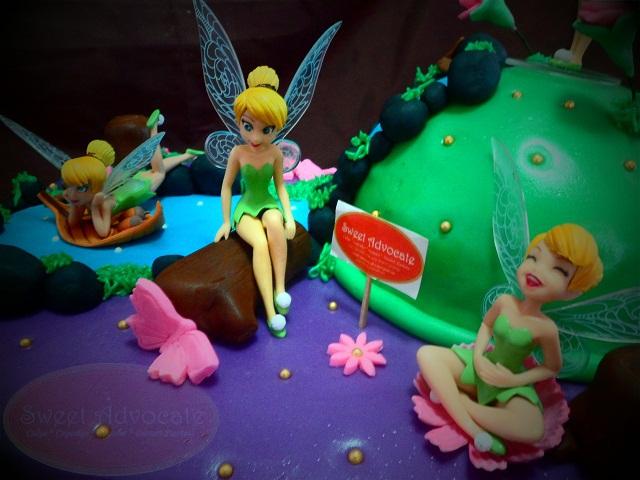 Tinkerbell Birthday Cakes Sam