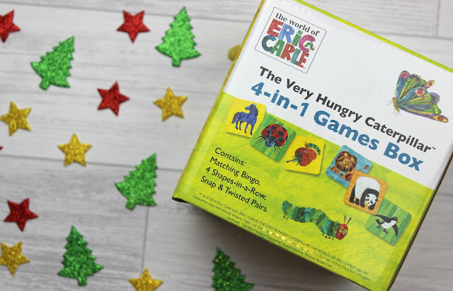A review of The Very Hungry Caterpillar 4-in-1 Games Box