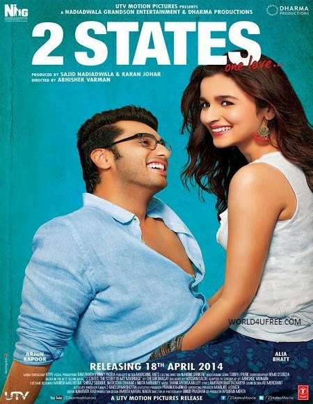 2 states 2014 Hindi 480p BRRip 400MB Bollywood movie 2 states hindi movie 2 states movie 480p BRRip bluray dvd rip web rip hdrip 300mb free download or watch online at world4ufree.be