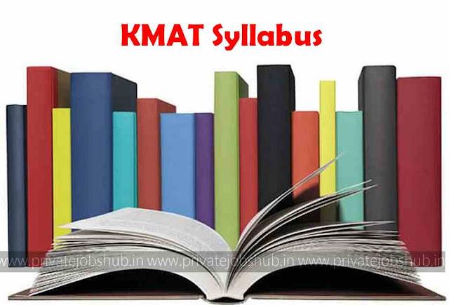 KMAT Syllabus