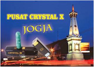 jual Crystal X di Jogja