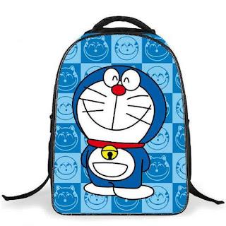 Gambar Tas Ransel Untuk Sekolah Karakter Doraemon