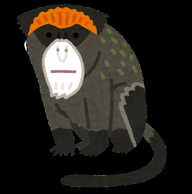 ブラッザグエノンのイラスト(猿)