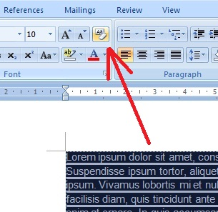 Cara Menghilangkan Warna Background pada Tulisan Hasil Copy-Paste di Ms. Word