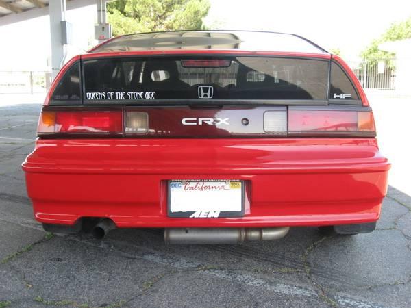 1991 Honda Crx Hf Auto Restorationice
