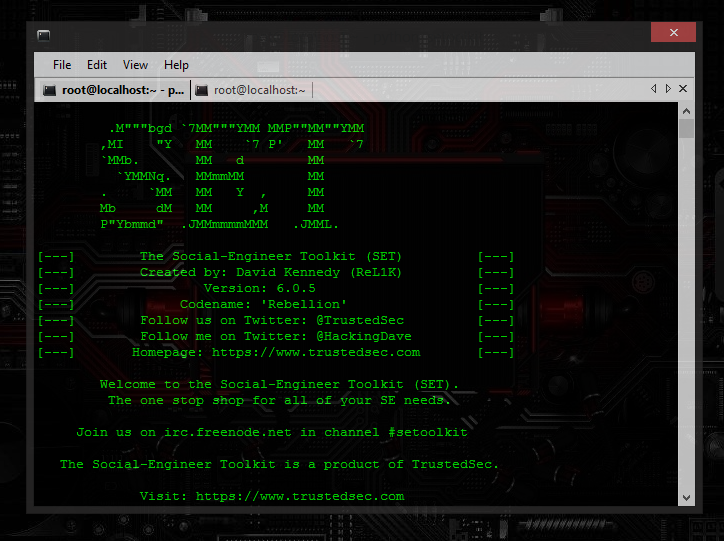 How to Install Social Engineering Toolkit (S E T ) on Windows - The