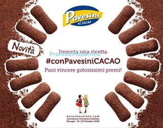 Logo Vinci gratis 5 kg di Pavesini, 5 kg. di cioccolato e altro ancora