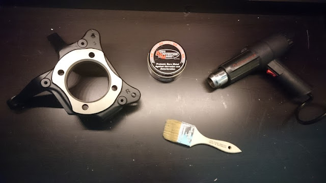 Using RPM Rust Prevention magic on powder coated part