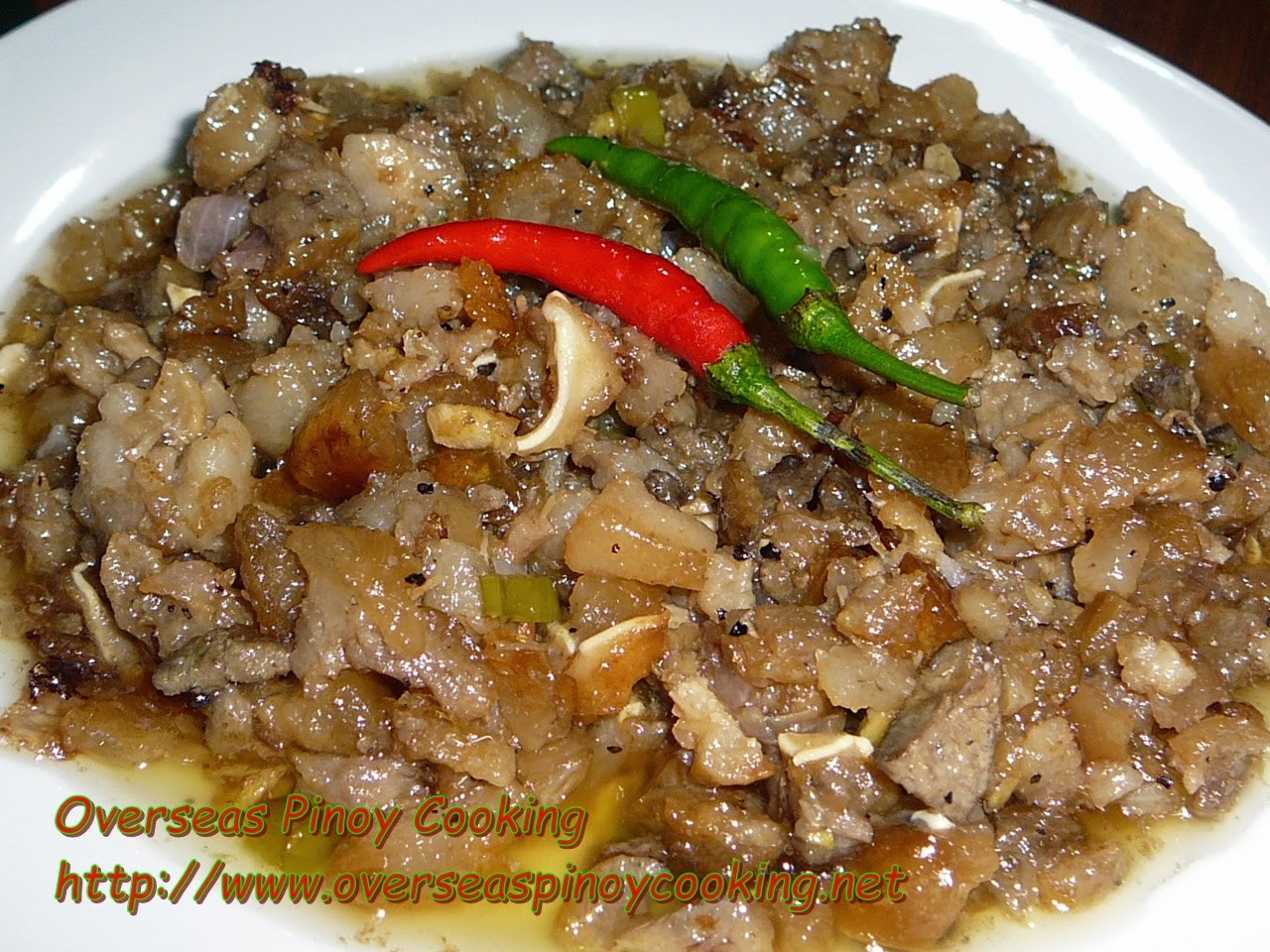 Pork Sisig, Mama Sita's Mix
