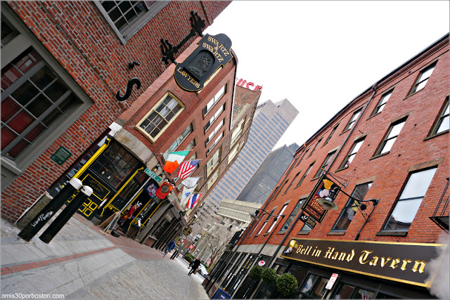 Blackstone Block Historic District en Boston