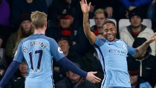 Video Gol AFC Bournemouth vs Manchester City 0-2