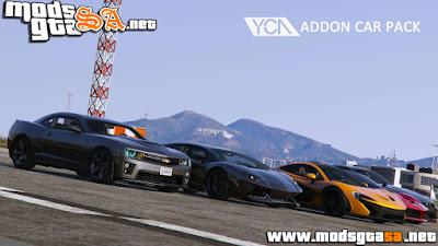 Pack Com 5 Veículos para GTA V PC