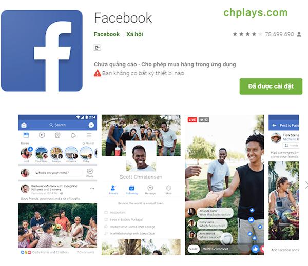 Tải Facebook - FB cho Máy Tính, điện thoại di động miễn phí c