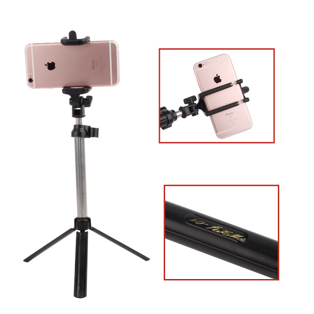 3in1 bluetooth shutter selfie stick wireless monopod with stand tripod 11street malaysia. Black Bedroom Furniture Sets. Home Design Ideas