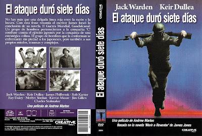 El ataque duró siete días 1964 | Caratula | Cine clásico
