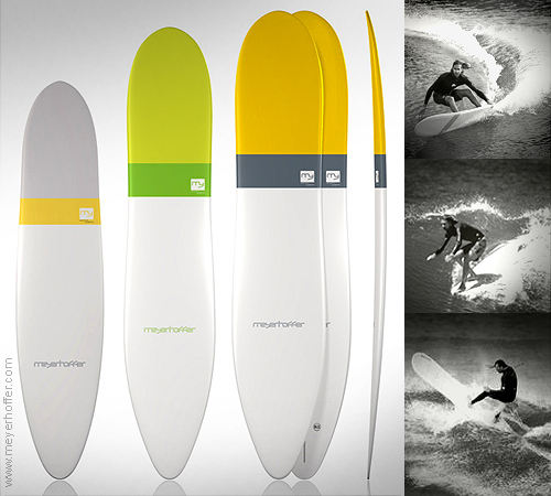Meyerhoffer 2 surfboard: the longboard evolution by Global Surf Industries