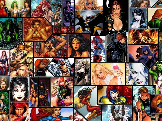 Wolfathon top 25 hottest female cartoon characters cgi - Female cartoon characters wallpapers ...