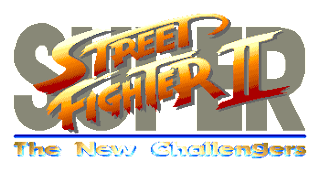 Street Fighter 30th Anniversary Collection - Super Street Fighter II - The New Challengers - Logo