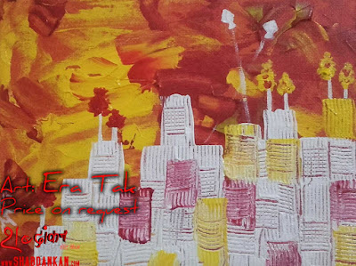era tak india red painter, painting 3, price on demand