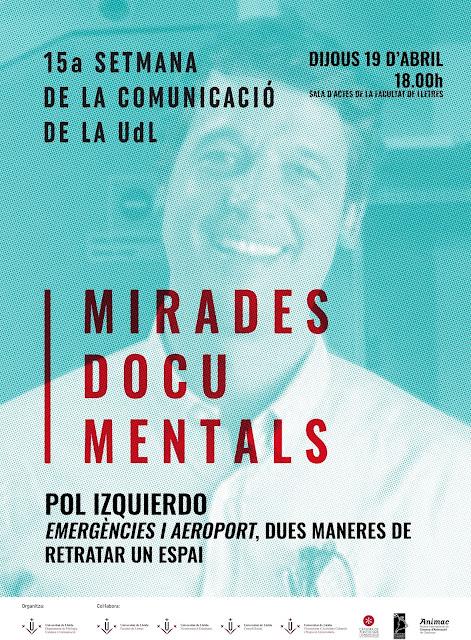 Pol Izquierdo al cartell de la 15a Setmana de la Comunicació