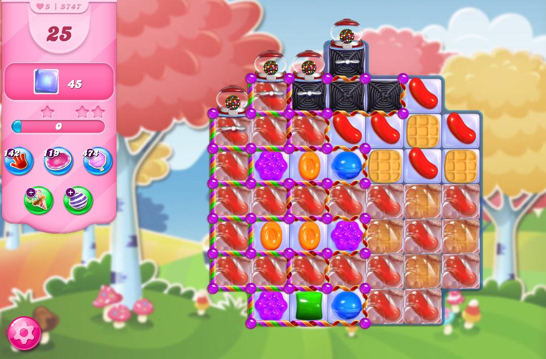 Candy Crush Saga level 5747