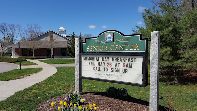 Franklin Senior Center, site for the Memorial Day breakfast and many other activities for the community