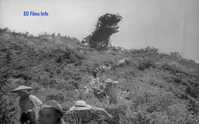 Godzilla (1954) is a Japanese science fiction kaiju drama film directed by Ishiro Honda in 1954. The film is produced and distributed by Toho Production Company. The film is made with special effects, GFX, VFX by Eiji Tsuburaya. It is the first film in the Godzilla franchise and showa series. The film is starred by Akira Takarada, Momoko Kochi, Akihiko Hirata, Takashi Shimura, Haruo Nakajima and Katsumi Tezuka as the performers for Godzilla. Plot: As a result of destroying the Japanese freighter Eiko-maru near Odo Island, another ship, the Bingo-maru is sent to investigate. A fishing boat is also destroyed. Fishermen stop catching fish mysteriously and blamed to an ancient sea creature known as 'Godzilla'. Reporters come to investigate the incident. That night, a strong storm strikes the island destroying the reporter's helicopter. Godzilla destroys 17 homes, kills nine people and 20 of the villager's livestock. The Odo residents go to Tokyo to demand disaster relief. The government sends paleontologist Kyohei Yamane to lead an investigation on the island. He discovered giant radioactive footprints and a trilobite. He presents all the findings in Tokyo and tells that Godzilla is about 164 ft and has been disturbed it from the underwater. At that time, 17 ships are lost at sea. Ten frigates are dispatched to attempt to kill Godzilla. This matter disappoints Yamane to study Godzilla. Yamane's daughter Emiko decides to break off hr arranged engagement with Dr. Srerizawa because she loves Hideto Ogata. She reveals the secret about Serijawa's lab and destruction to Ogata. At last Serijawa shows the 'Oxygen Destroyer' to him. A navy ship takes Ogata and Serijawa to plant the device tin Tokyo Bay. Ogota and under the water take the 'Oxygen Destroyer'. Ogata comes back to the ship but Serijawa cut off the rope under the water. The reaction of the device is started then Godzilla is dead. The people are very satisfied that the Godzilla is dead but they mourn for Serjawa's death. Film Making Styles and techniques: With the help of cinematographer Masao Tamai director Ishiro Honda depicted Japanese original set up. Here he needed to work with Tsuburaya's team of special effects. The blending of Godzilla's effects and real cinematography portray the main theme of the story. Though this film has widely recognition in the field of world horror film, it has some negative reviews. Some accused the film of exploiting the widespread devastation that the country had suffered in the World War II. Most of the film was shot in the Toho lot. Honda's team also filmed on location in the Shima peninsula in Mic prefecture to film in the Odo Island. Which are 50 Toho extras and Honda's team establishing their base negotiated with the Japan self-defence forces to film scenes requiring the military 2000 girls were used for peace prayer. The score by Akira Ifukube was used in this film. The music in pleasure boat, scene is more western than Japanese own. The use of background music is also done by Akira Ifubuke. It is the first monstrous film at that time. So film making style and activities of the team were very hard. But director hired some skilled and popular crews to make the set of the Godzilla. At that time, in 1954 it was very tough to make the set of Godzilla like this. Special effects are also important in this film. It got Japan Movie Association Awards for best special effects in 1954. A structure was built and two artists starred and operated the structure. The set is designed to look it like actual monster. The set of the houses and the electricity towers are designed to look them alike real one. Many background scores are created separately. For example; the sound Godzilla's footsteps, attack Godzilla, Frigate March, horror of the water tank and many. The background music is made in such a way that the music is alike of the scenery or the object. It is a science fiction film. Director has shown a love story or romanticism a little at the ending time. Ogata is the hero of Emiko. But actually Serijawa is the hero of the film because he has ended the ending scene of the film. He has died because the love has died, Emiko has gone. In a love story generally we see male lover of a film is the hero. But in this film Serijawa is the hero not only to Ogata and Emiko but also to the general people.