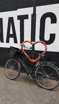 Cute bicycle lock