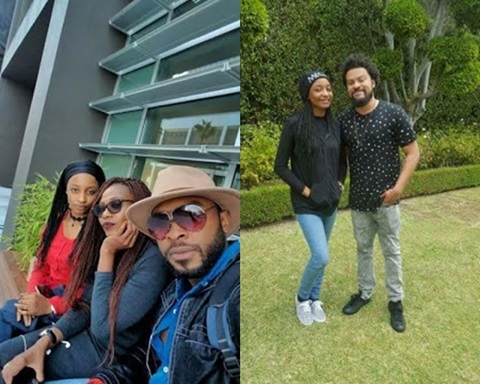 Grass to Grace: Banned Hausa Actress, Rahama Sadau Spotted with Akon & Others on a Movie Set in L.A (Photos)