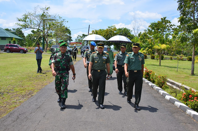Cek Persiapan Ton Tankas, Danrem 141/Tp Kunjungi Kabupaten Takalar